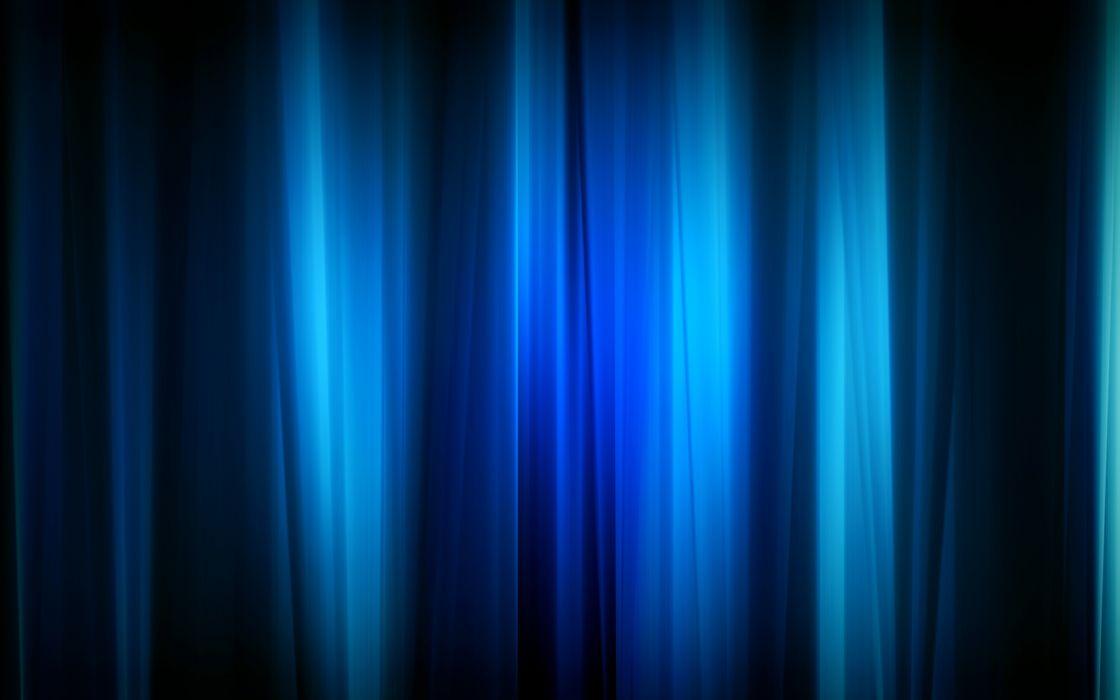 Blue curtain wallpaper