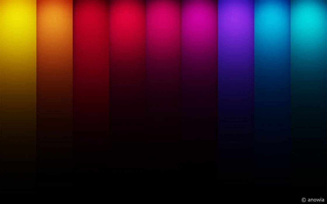 Colorful courtains wallpaper