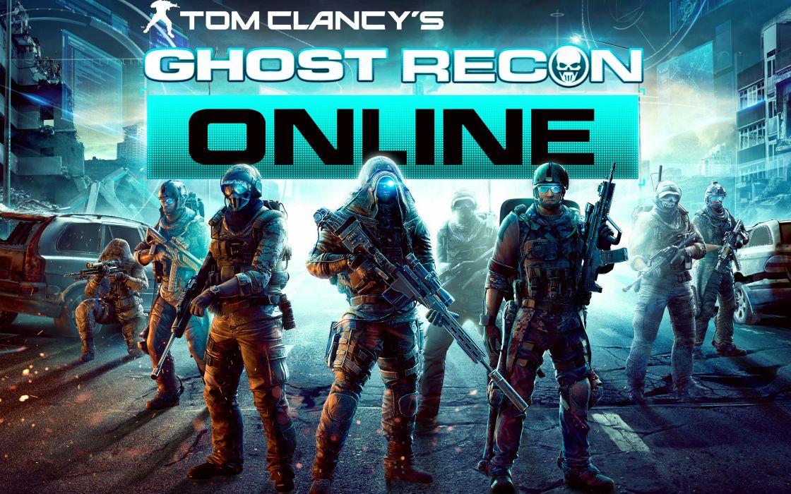 Ghost recon online wallpaper