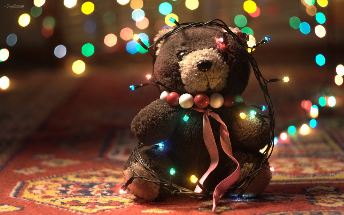 Adorable teddy bear wallpaper