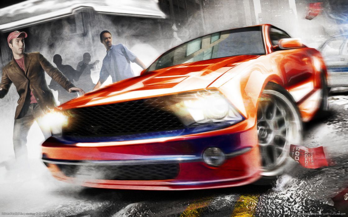 Driver parallel lines 2 wallpaper