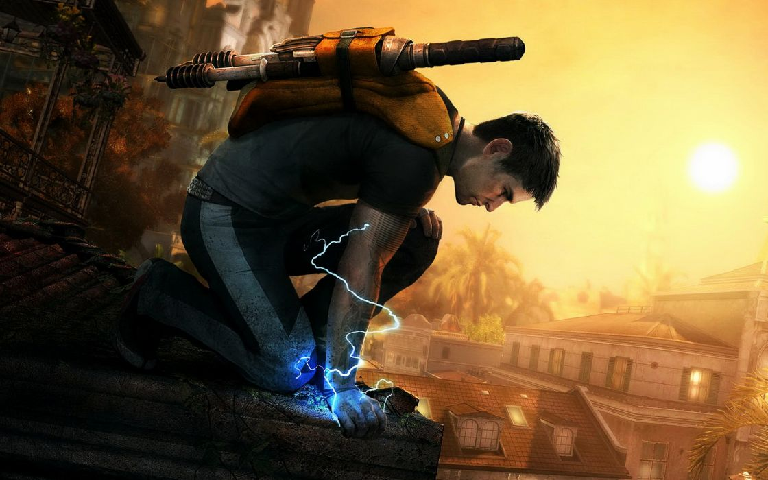 Infamous for ps3 wallpaper