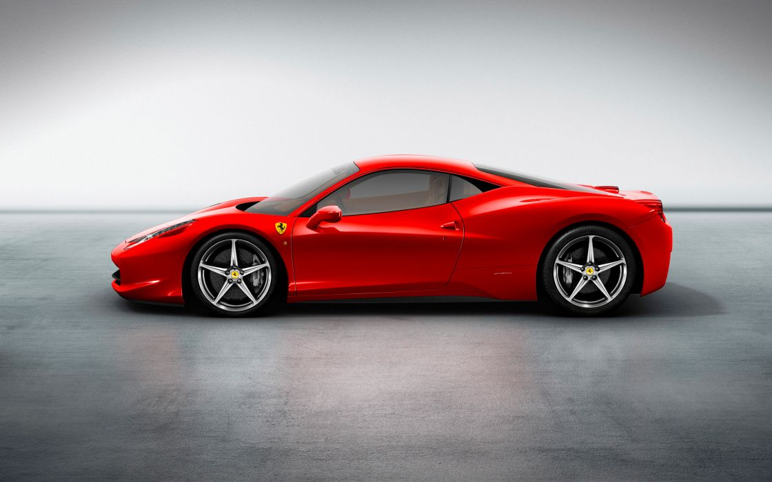 Ferrari 458 italia hd wide wallpaper