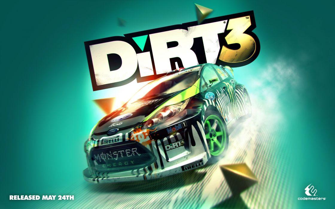 2011 Dirt 3 game wallpaper