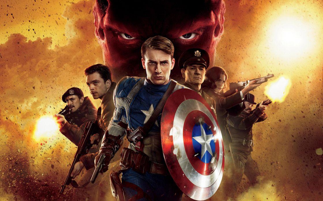 2011 Captain america first avenger wallpaper