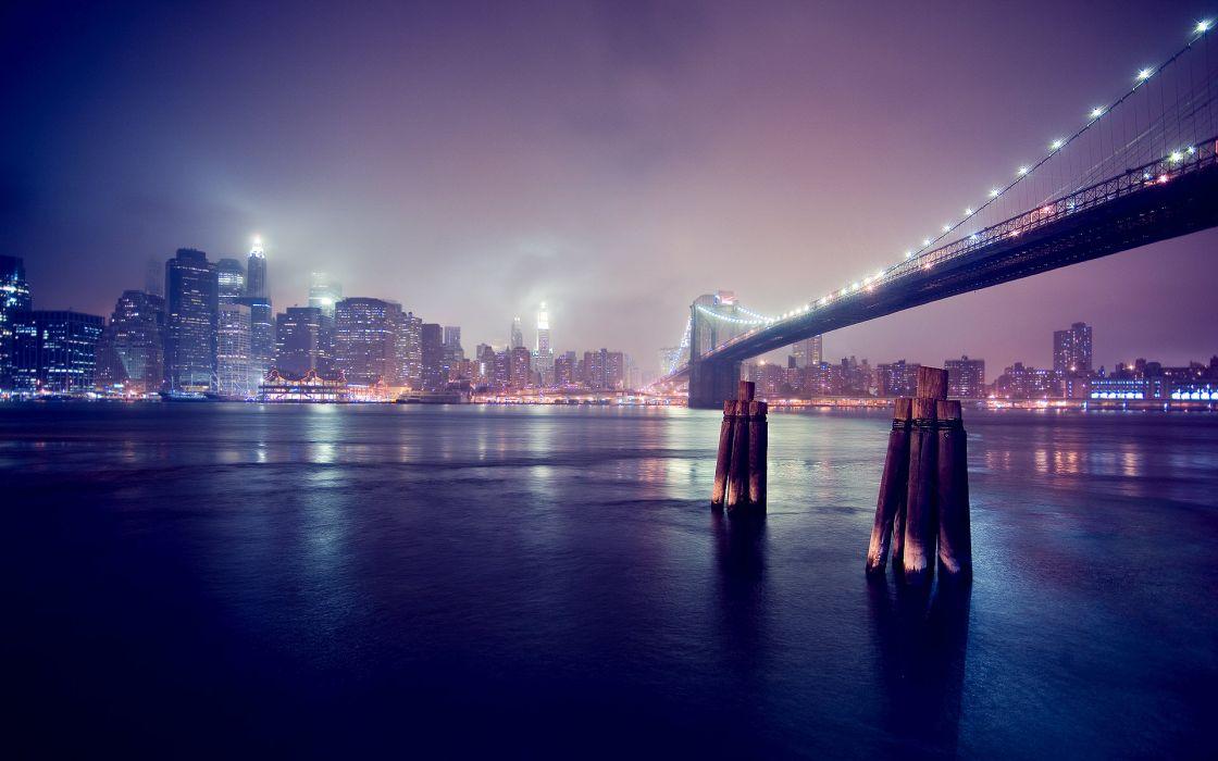 City nights  lights wallpaper