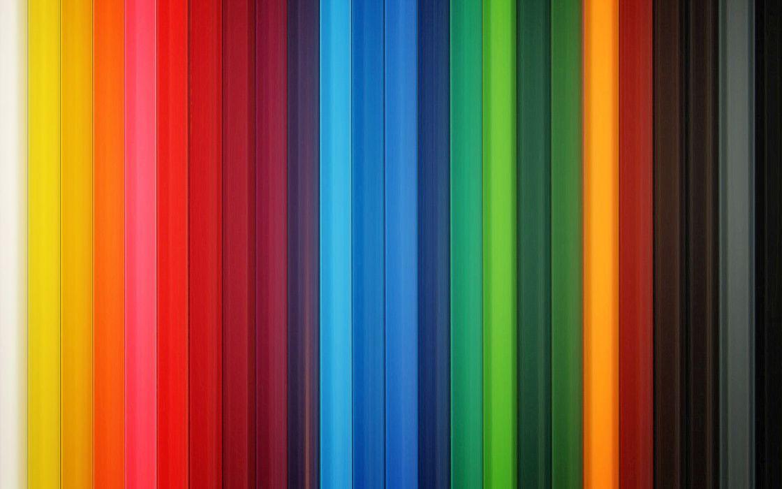 Colorful pencils wallpaper