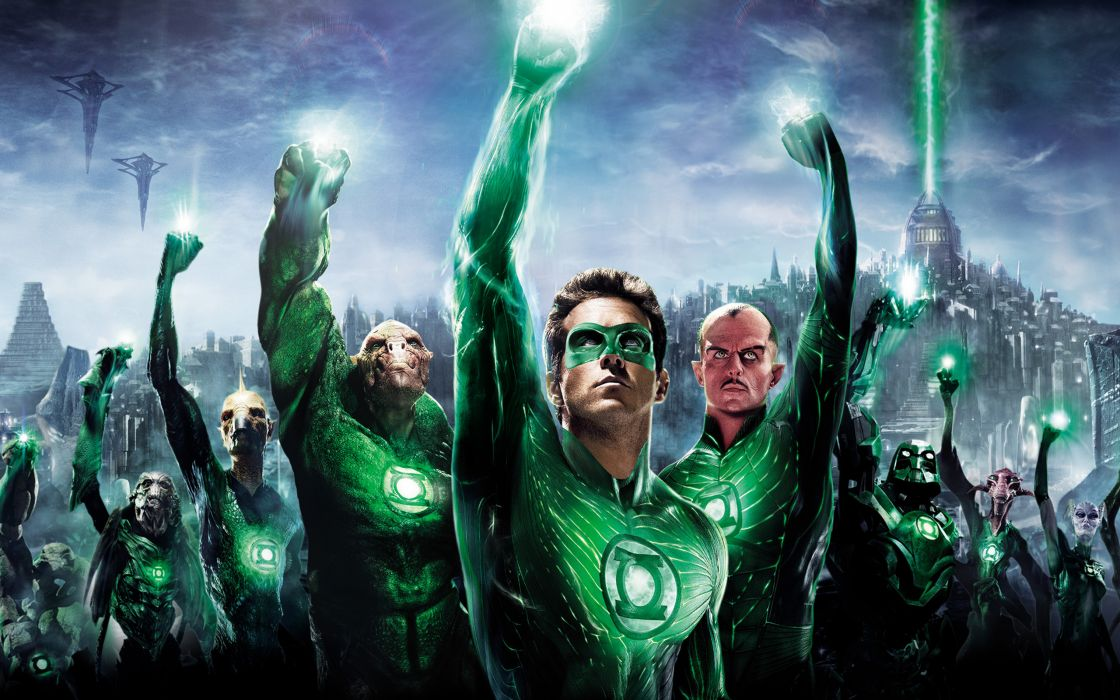 2011 Green lantern 3d wallpaper