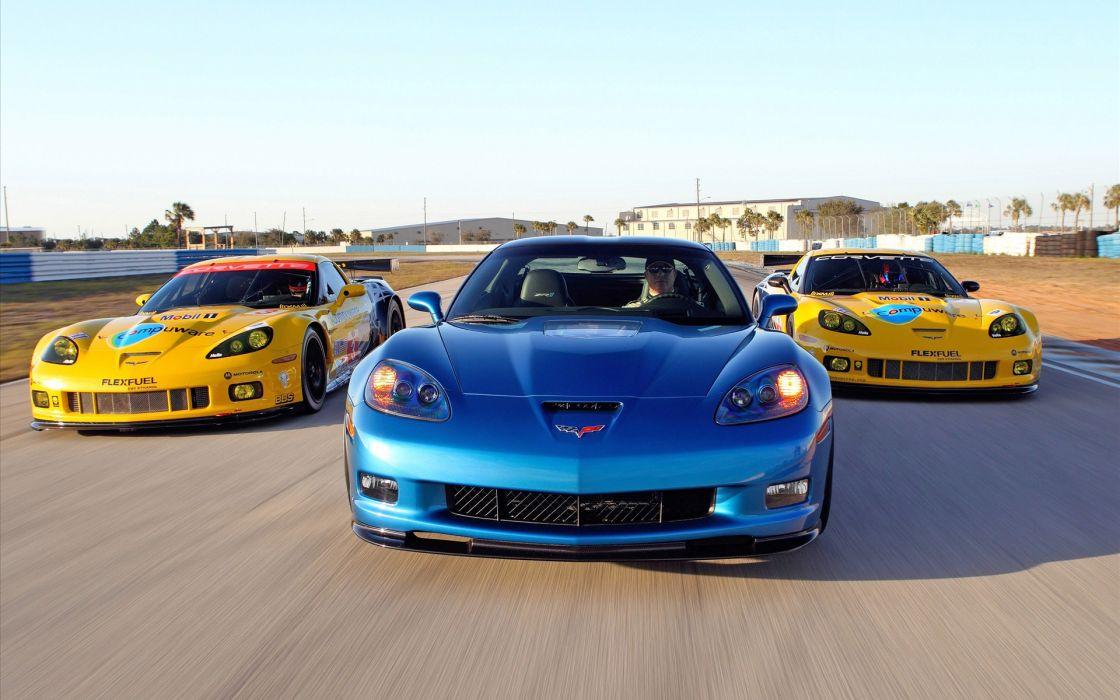 2010 Corvette racing sebring cars wallpaper