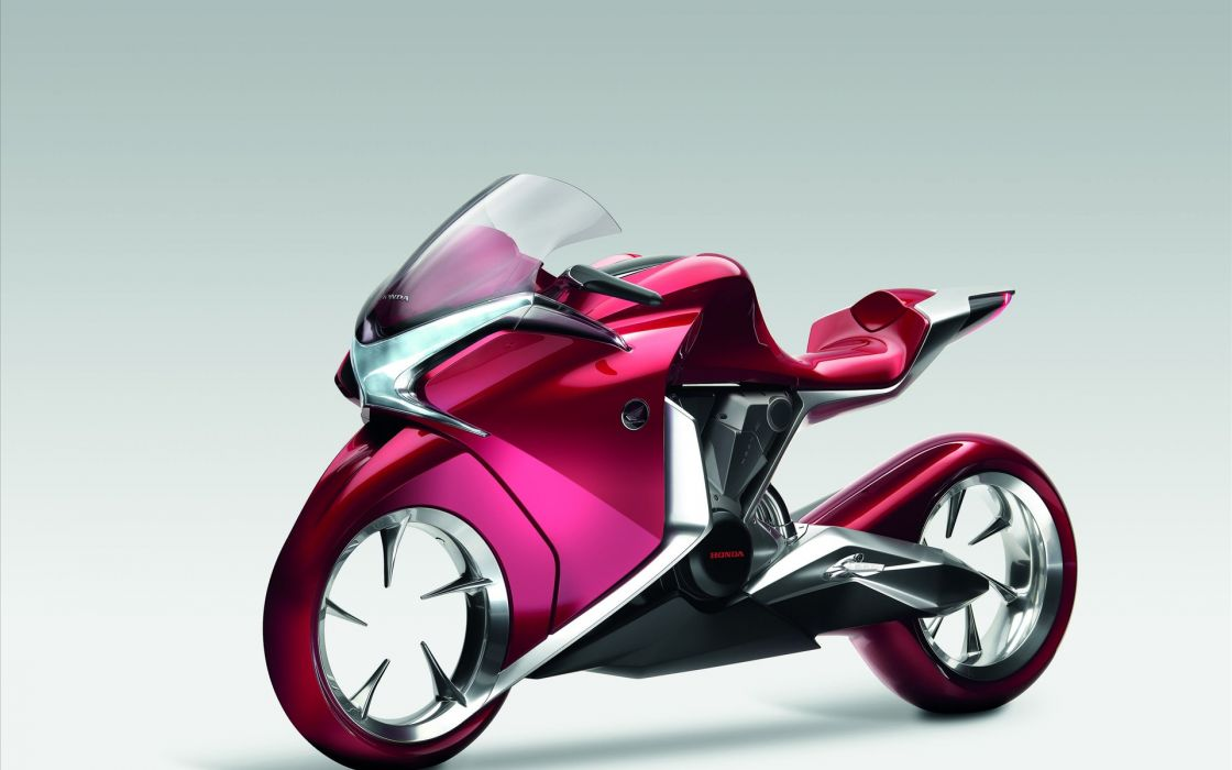 Honda v4 concept bike wallpaper