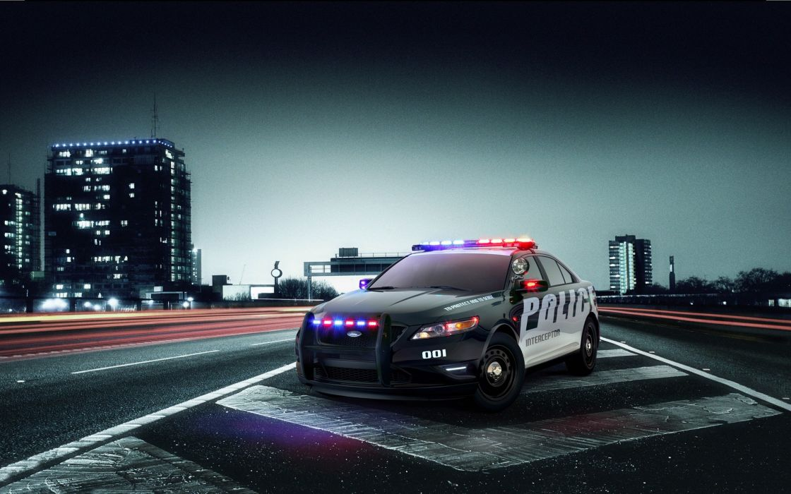 Ford police interceptor wallpaper