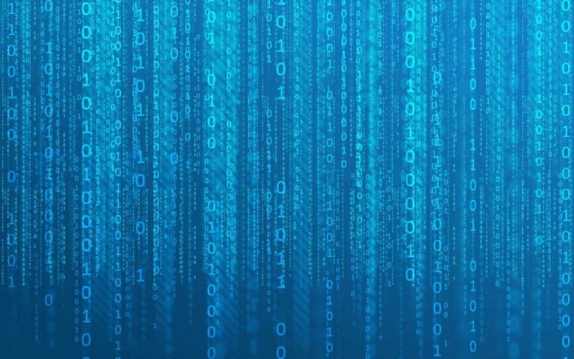 Matrix binary wallpaper