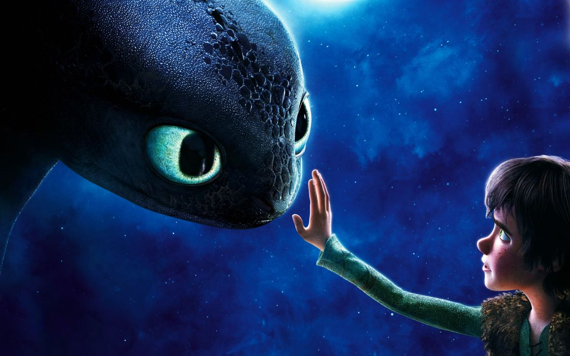 How to train your dragon 2010 movie wallpaper