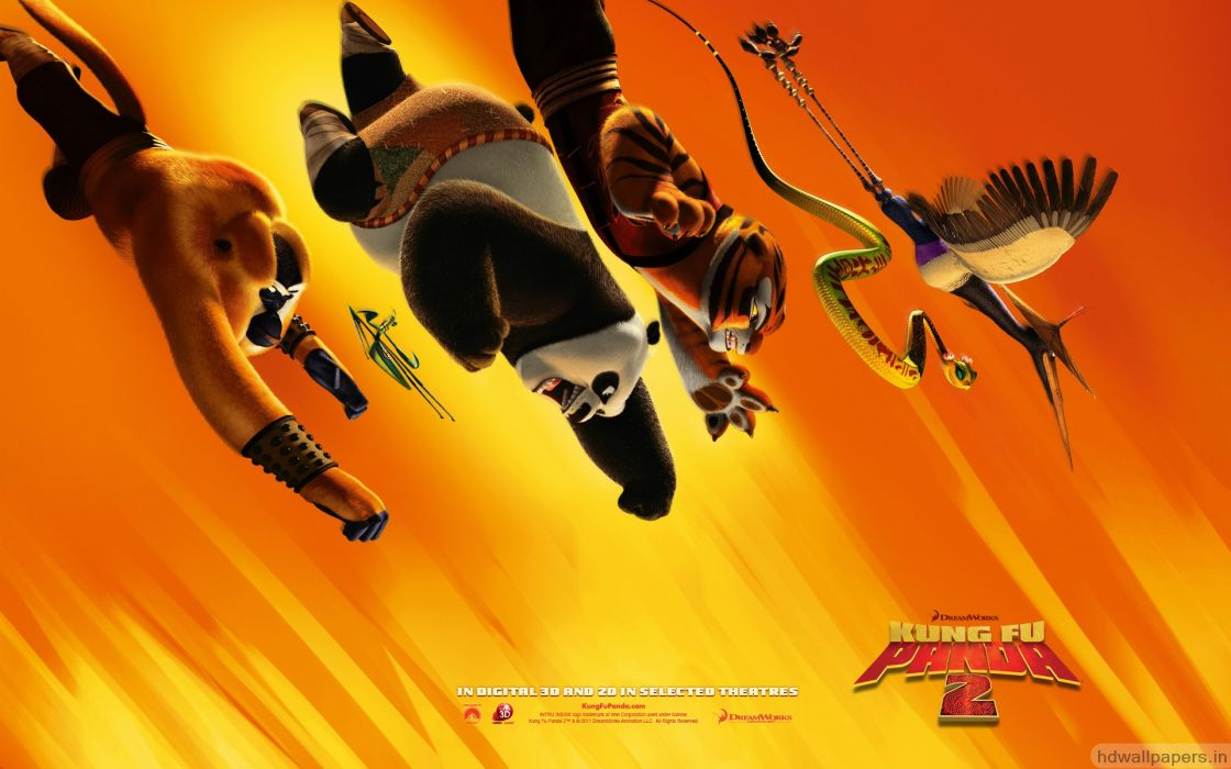 Kung fu panda 2 movie wallpaper