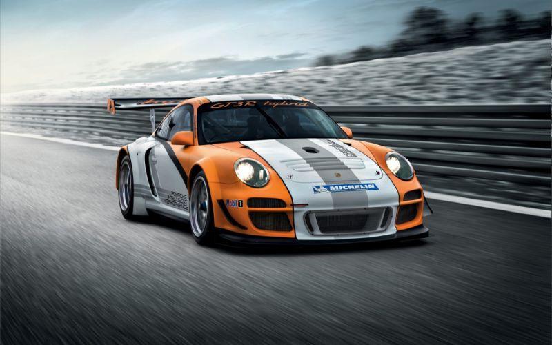 Porsche 911 gt3 r hybrid wallpaper