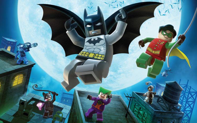 Lego batman game wallpaper