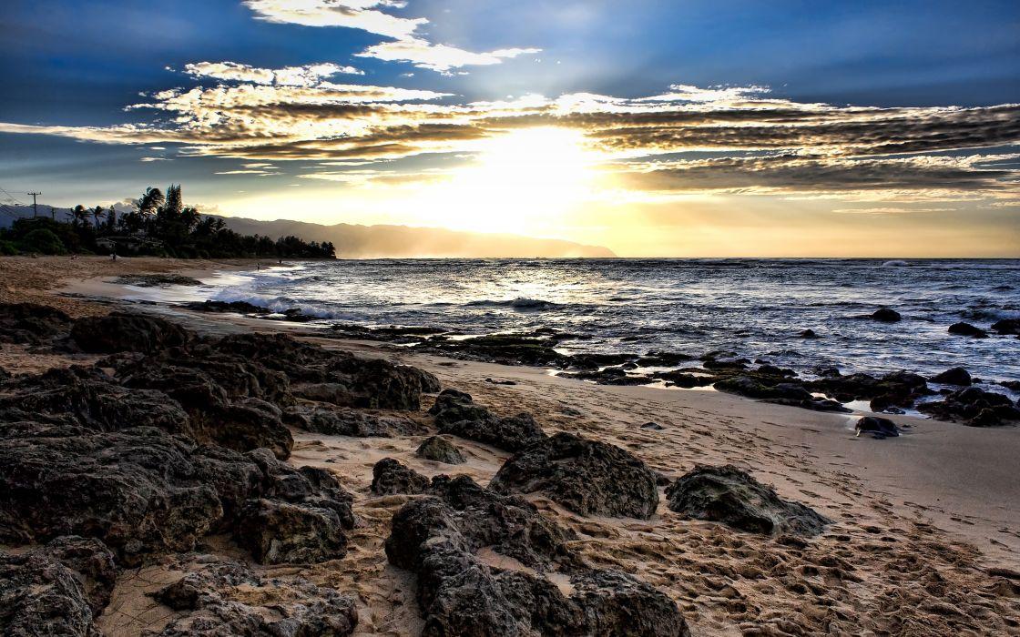 Laniakea sunset wallpaper