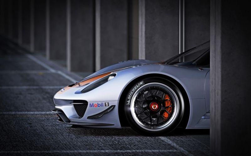 Porsche 918 rsr wheel wallpaper