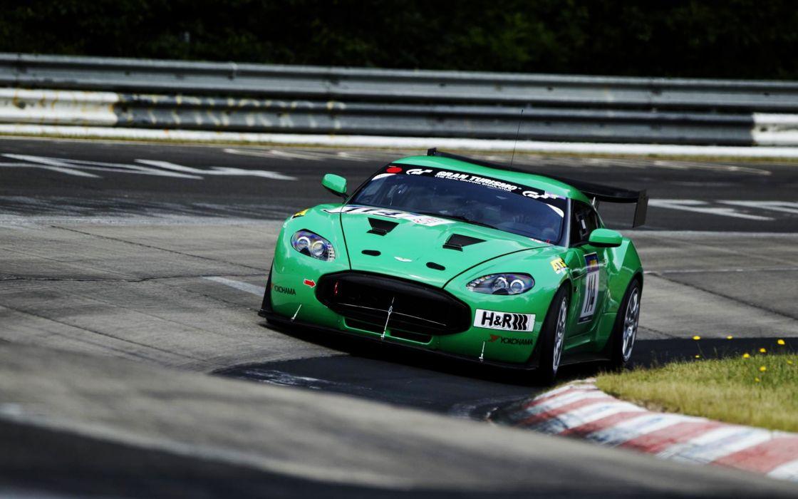 Aston martin zagato race wallpaper