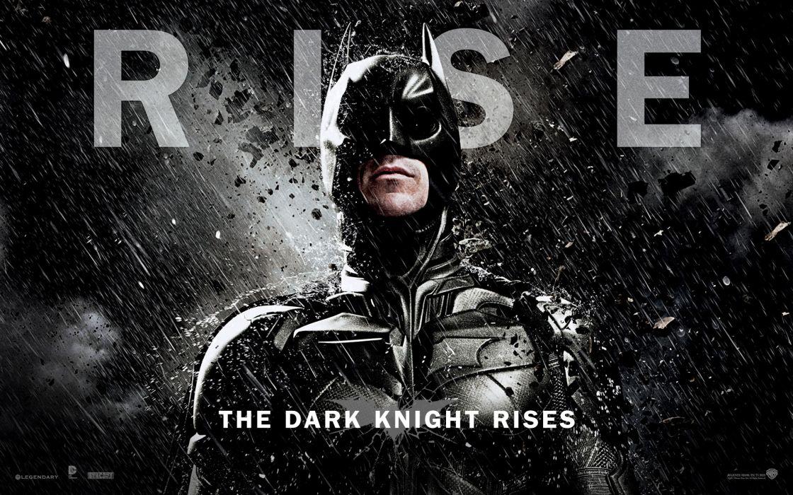 Rise the dark knight wallpaper