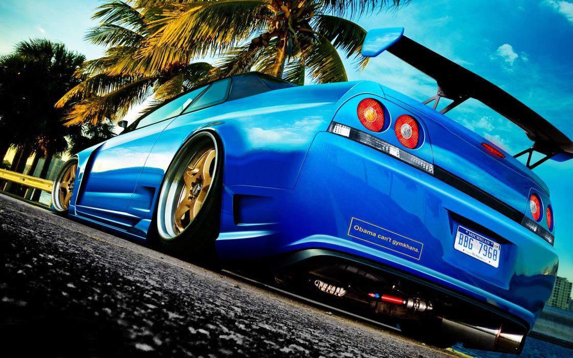 Nissan skyline r33 wallpaper