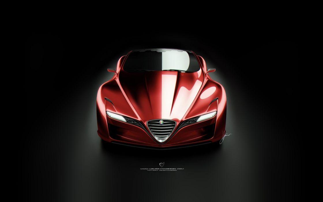 Alfa romeo 12c gts concept wallpaper