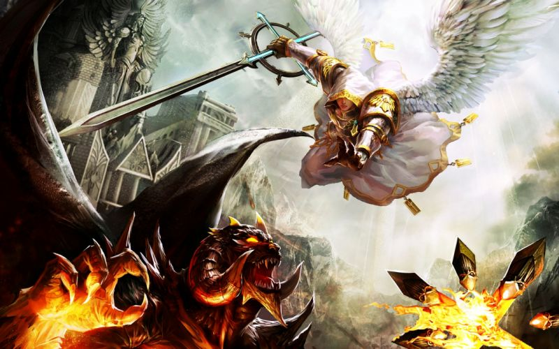 Heroes of might and magic scene wallpaper
