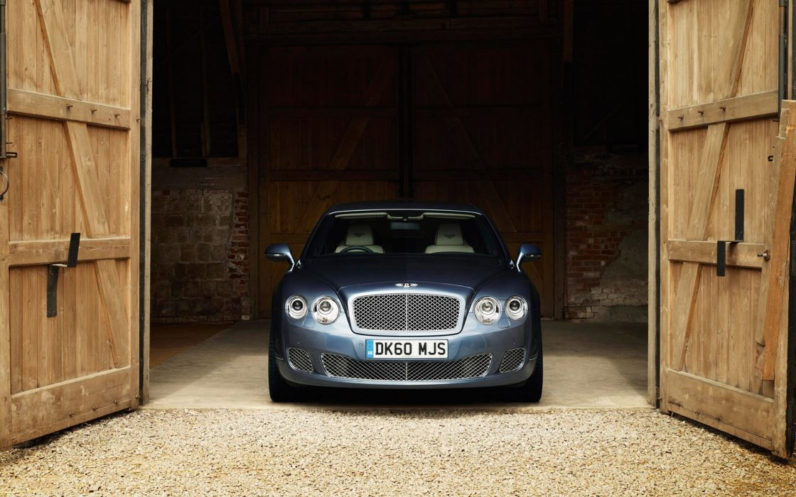 Bentley continental flying spur front wallpaper
