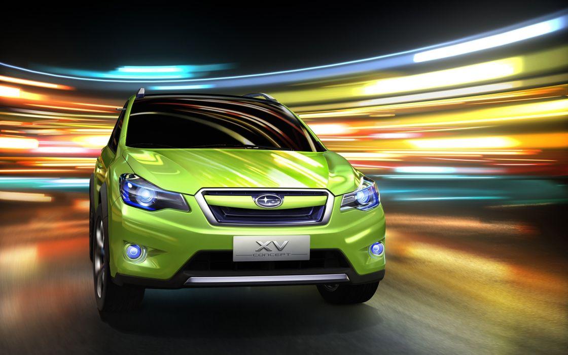 Subaru xv concept 2011 front wallpaper