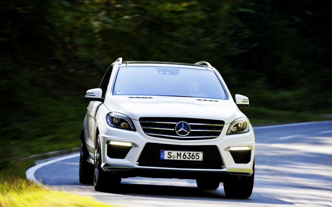 2012 Mercedes benz ml 63 amg wallpaper