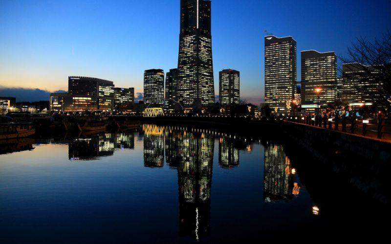 Yokohama city wallpaper