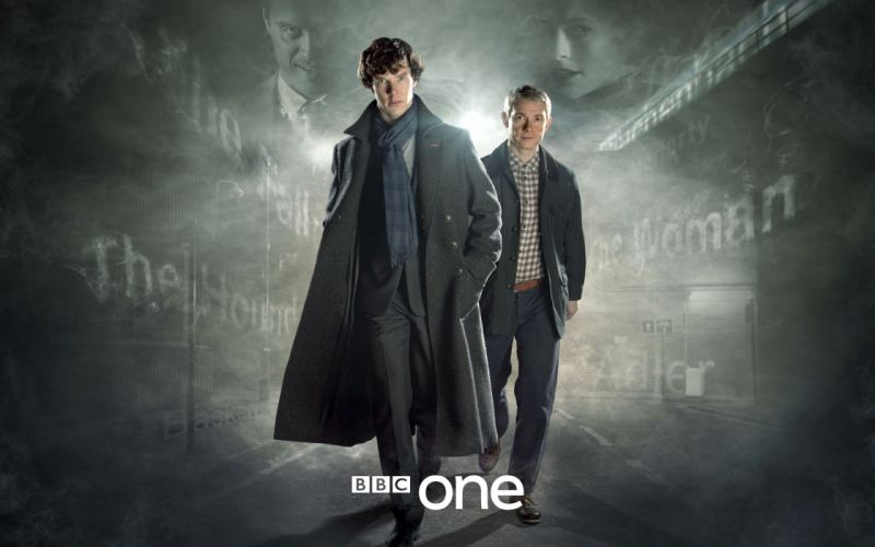 Sherlock bbc tv series wallpaper