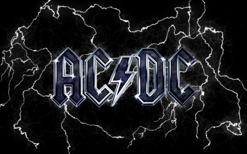 Ac dc lightning wallpaper