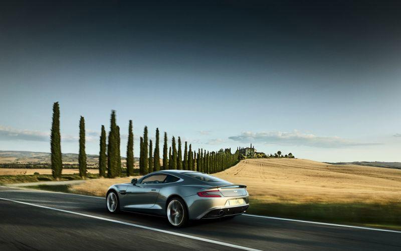 Aston martin vanquish 2013 wallpaper