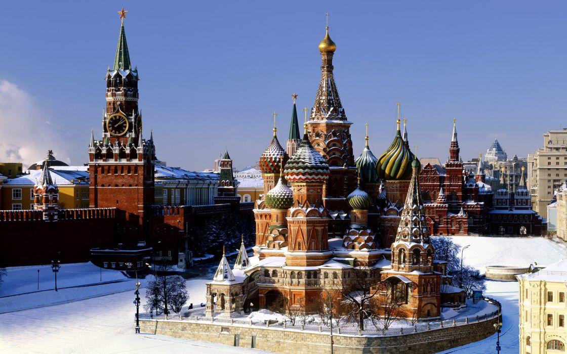 Moscow kremlin wallpaper