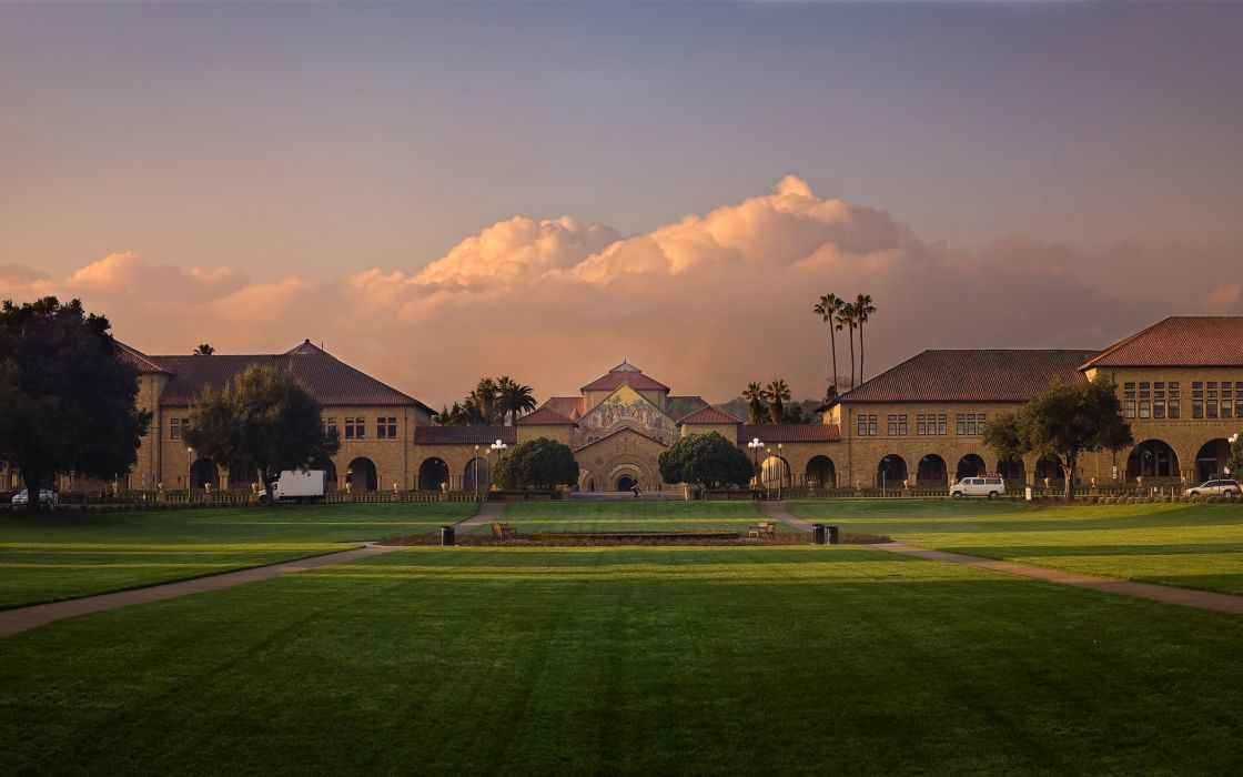 Stanford at sunrise wallpaper