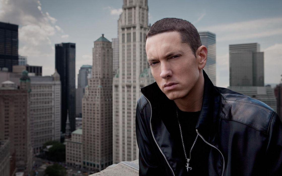 Eminem close look wallpaper