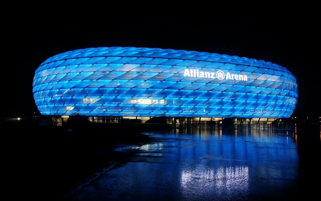 The allianz arena munich wallpaper