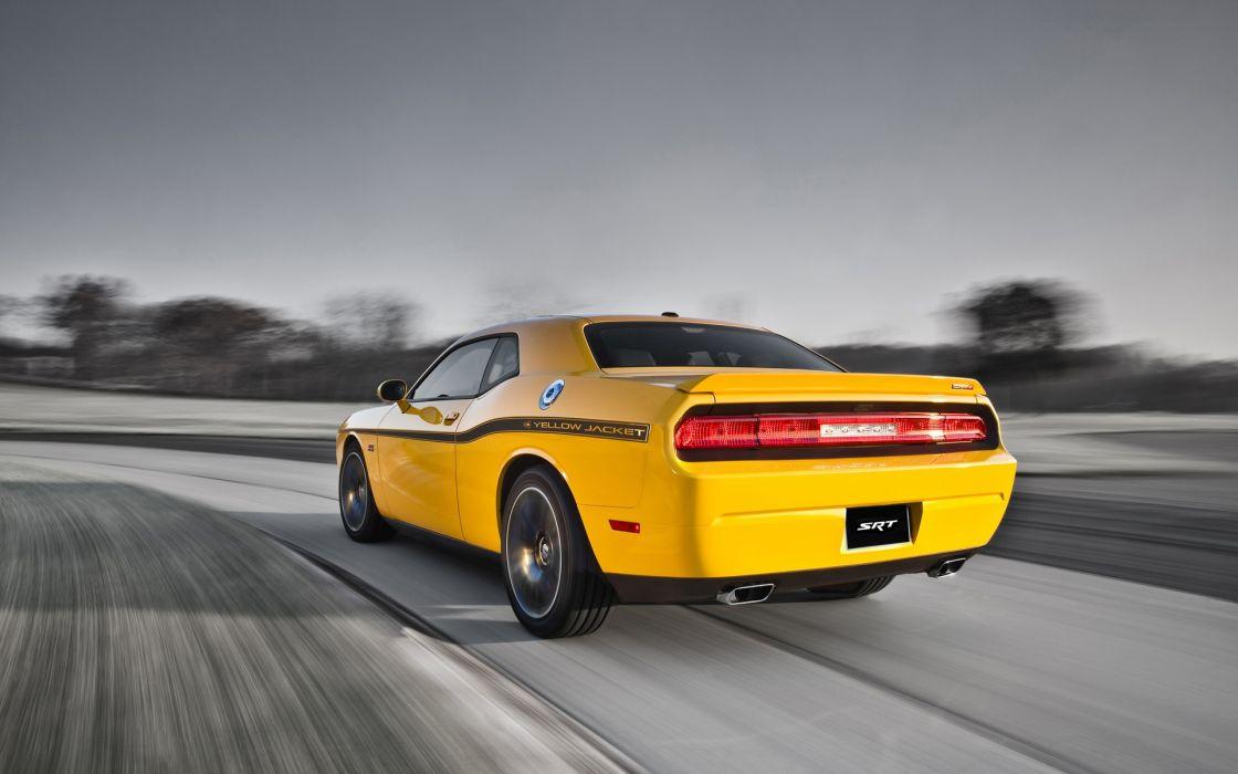 Dodge challenger yellow jacket wallpaper