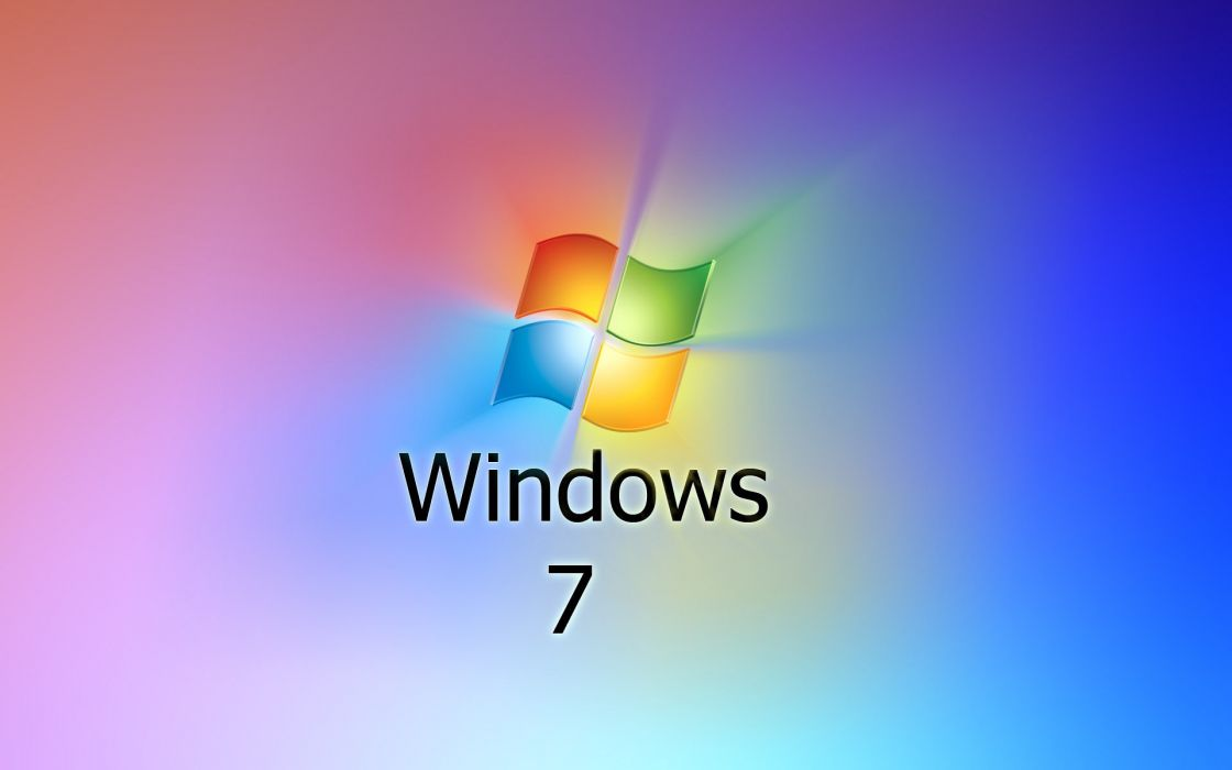 Windows 7 simple wallpaper