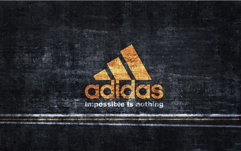 Vintage adidas logo wallpaper