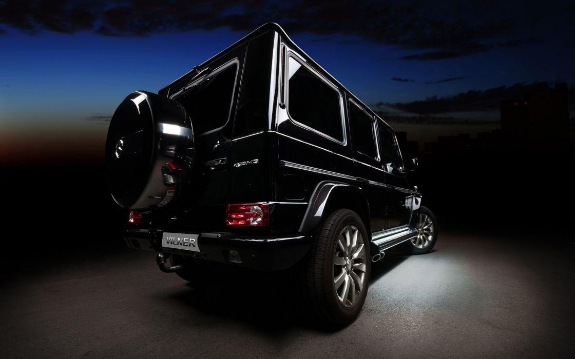Mercedes benz g class vilner rear wallpaper