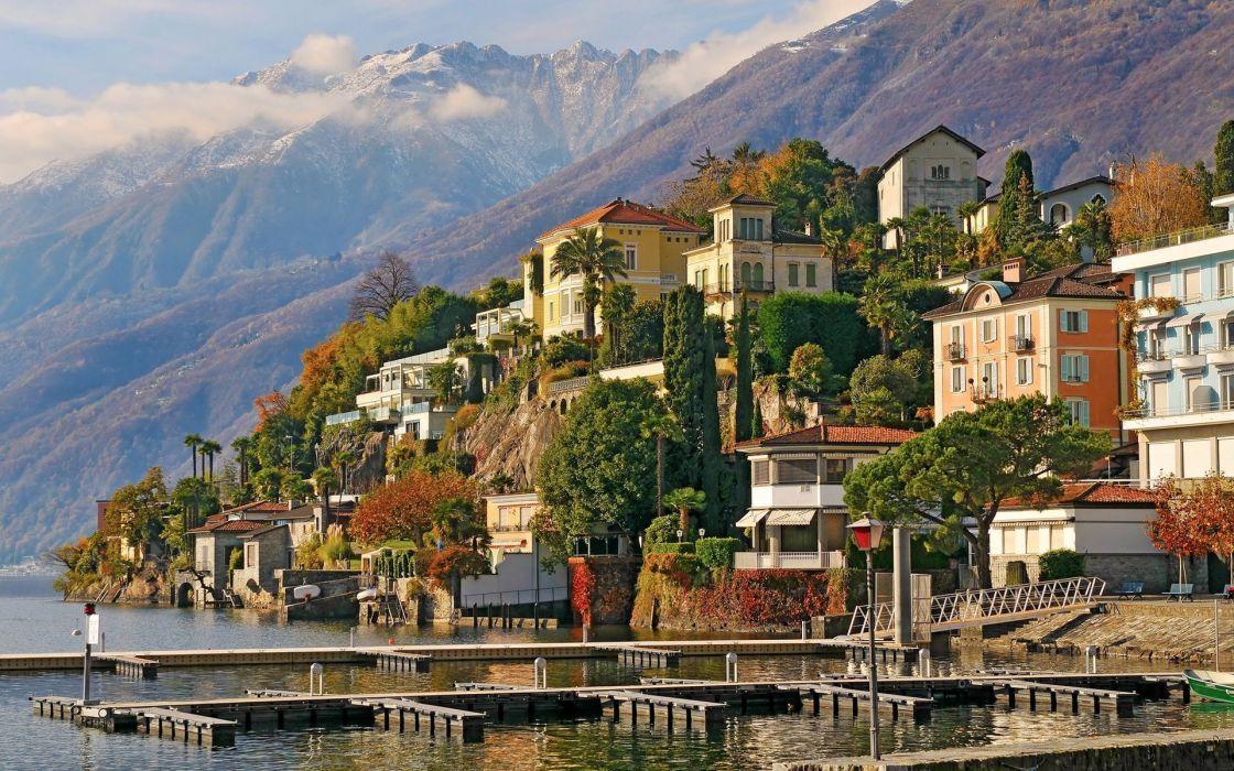 Switzerland city wallpaper