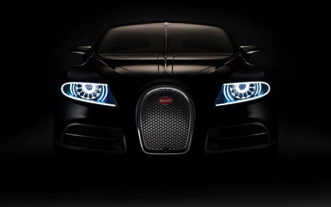 Bugatti 16c galibier front wallpaper