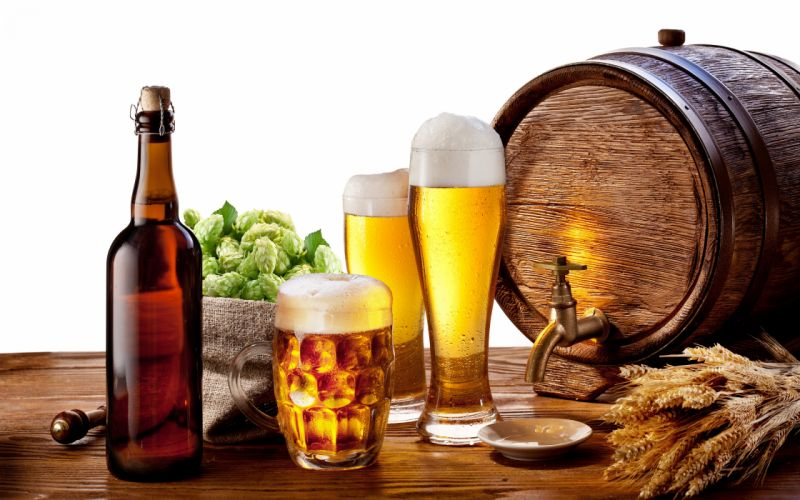 Beer time wallpaper