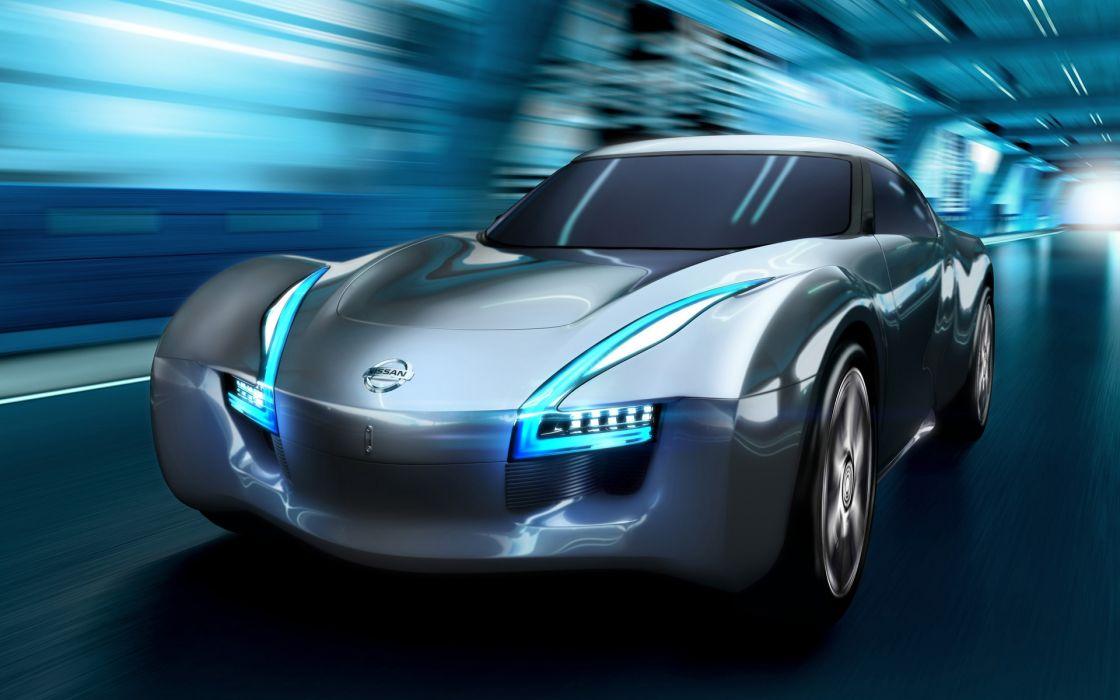 Nissan esflow concept speed wallpaper