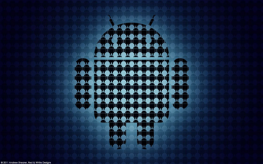 New android logo wallpaper