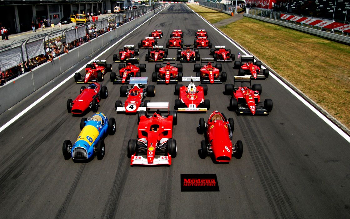 Ferrari formula 1 start wallpaper
