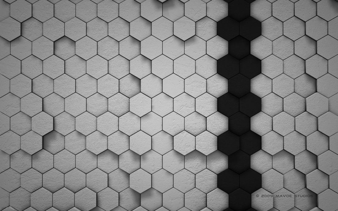 Digital design wallpaper