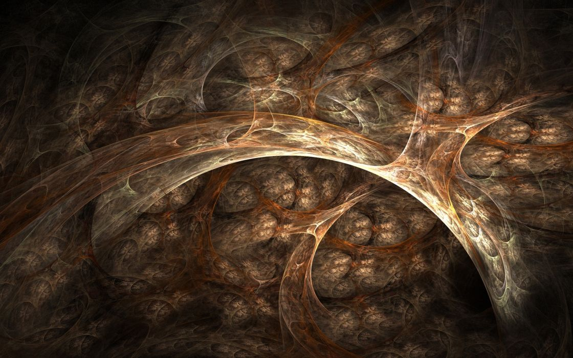 Nice fractal style wallpaper